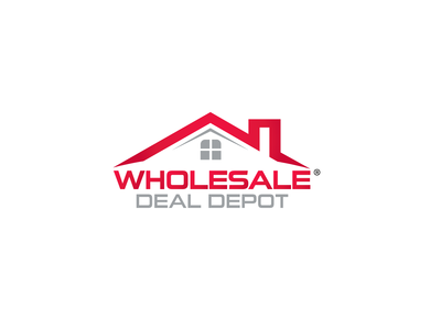 Wholesale deal depot Logo lettering real estate minimal website 2d web app ui typography flat ux logo desing icon logo graphic adobe illustrator branding vector design graphic design