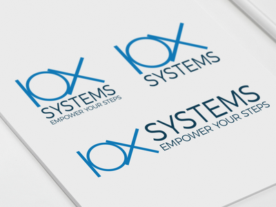 IOX Systems identity lettering type website logo desing web minimal typography app icon flat logo ui ux graphic adobe illustrator branding vector design graphic design