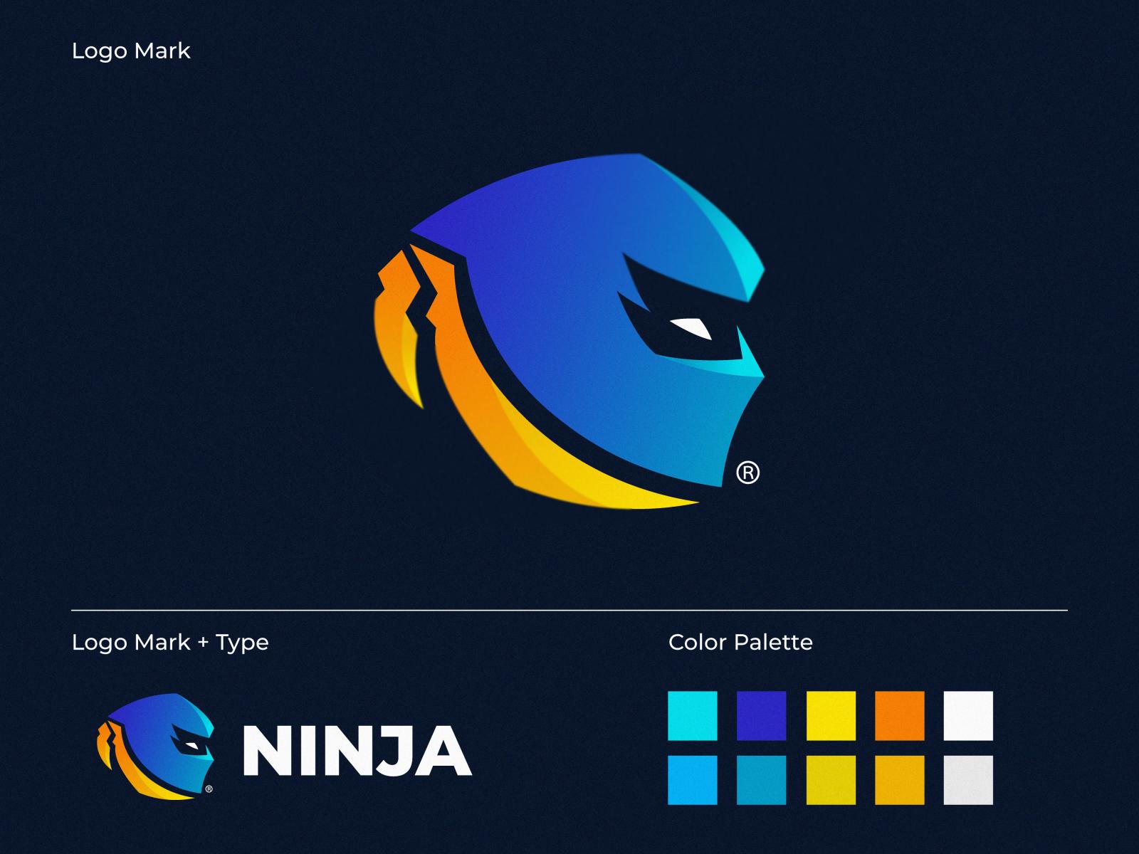 Ninja Logo By Milan Vukovic On Dribbble