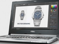 Watch Vector Drawing