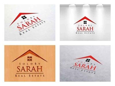 Sold By Sarah - Real Estate Logo