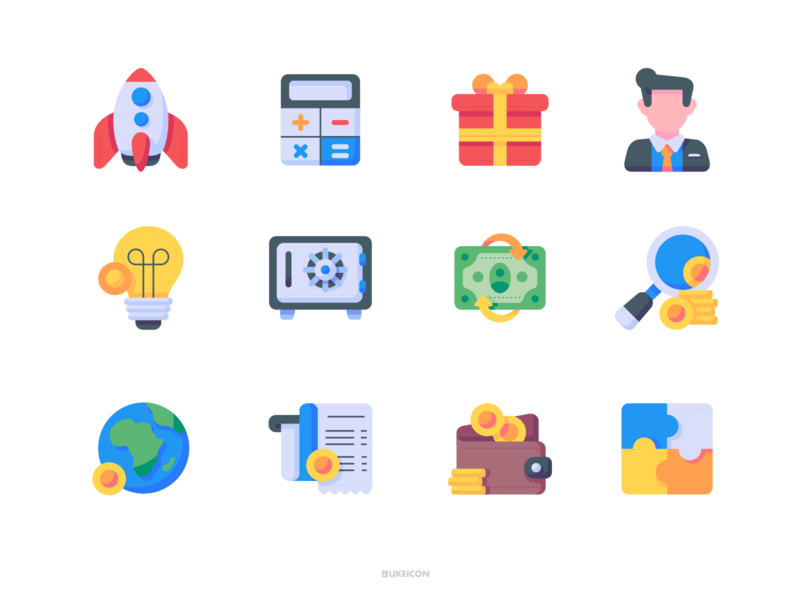 Business and finance - Bukeicon 1.0 Collection uidesign uiux ui userinterface illustration iconset icons webdesign iconography icon app icon bukeicon