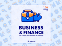 Business and finance iconset - bubble - bukeicon