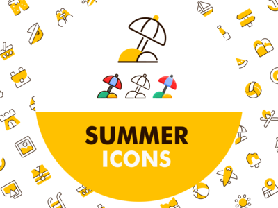 Summer icons vol1 - by bukeicon