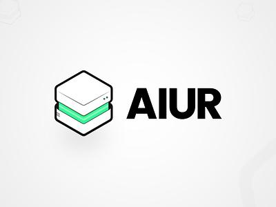 Project Aiur - Open science blockchain-enabled. app 3d design 3d artificial intelligence blockchain science blockchaintechnology web illustrator identity minimal type typography branding logo illustration icon clean vector design