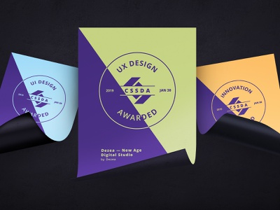 Dezea Website - CSSDA Awards innovation ui  ux design digital studio website awards design awards web presentation design website flyer flyer design flyer artwork awards award winning typography clean vector design