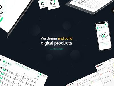 Dezea - Social Media Visual logo minimal illustration website app ui branding typography clean web design