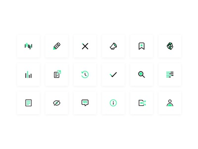 Iris.ai - Icon set