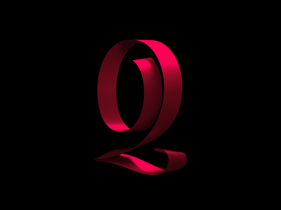 Numeral 2 3d artist numeral numbers arnold render type design daily lettering 36daysoftype 3d lettering 3d type 3d typography handlettering typography cinema 4d type ribbon lettering artist graphic design custom type custom lettering lettering