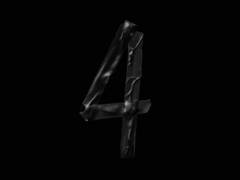 Numeral 4