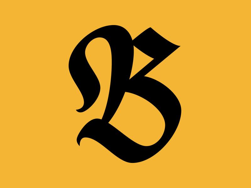 B — 36daysoftype