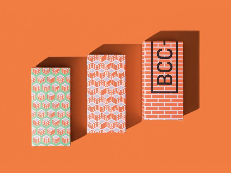 Brick City Coffee Packaging packaging design packaging roastery coffee moravia illustration design vector zlín zlin czech republic czechia czech
