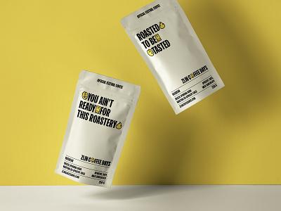 Zlin Coffee Days Coffee Packaging festival zlin coffee illustration typography branding design czechia czech vector
