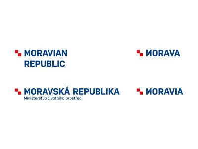 Moravian republic identity revolution moravia logo branding typography design vector czech republic czechia czech