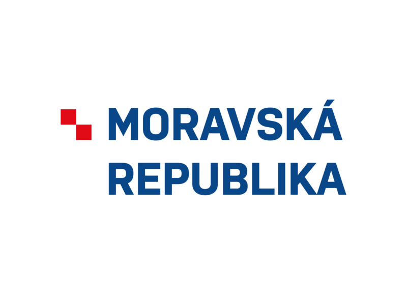 Moravian republic logo moravia logo branding typography design vector czech republic czechia czech