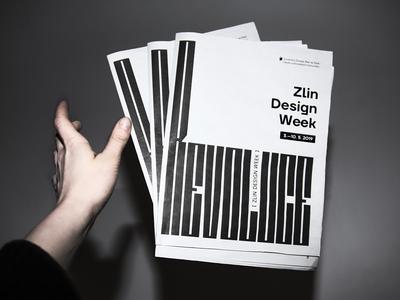 Zlin Design Week Newspapers