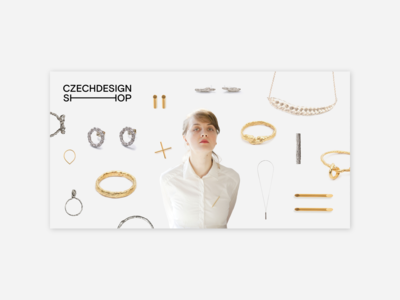 Jewellery campaign for CZECHDESIGN