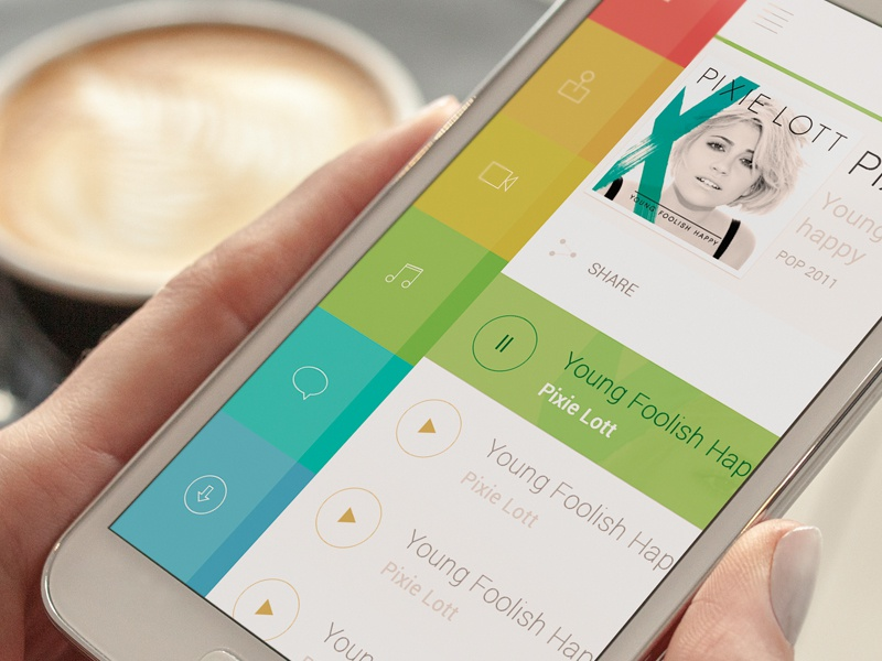 App Media Mockup icon ui web flat app appstore icons color