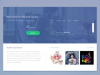 Sketch 3 Web Page Recording studio