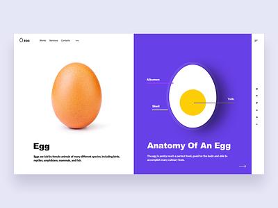 Funny Egg Slider Web creative color violet slider web egg ios