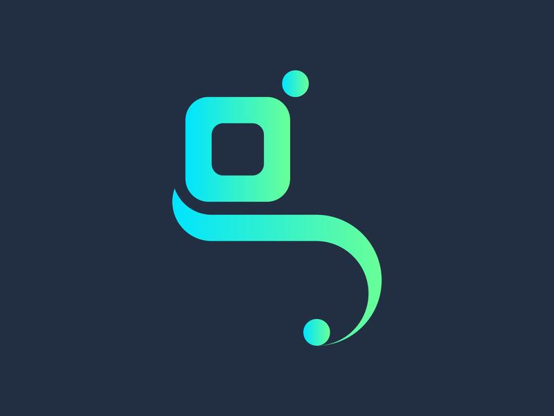 Letter for G design logodesign minimal icon logotype flat branding 2020 trend typography minimalist design