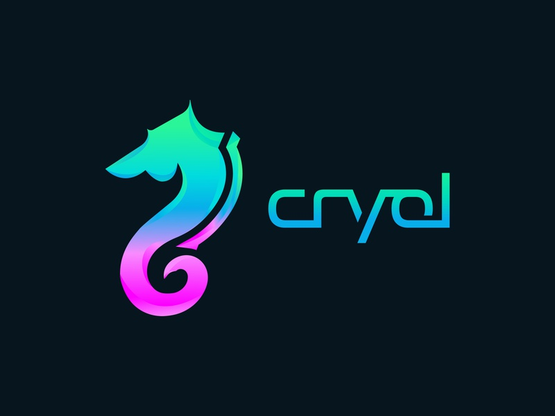 Cryol logo DESIGN colorful logodesign logo vector icon ux ui logotype illustration minimalist 2020 trend brand design design