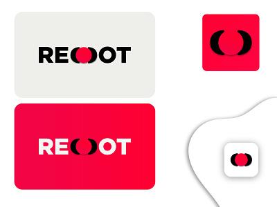 RED DOT graphic design ui red unique creative logo business logo company logo marketing red dot vector logodesign minimalist design branding brand design logotype logo