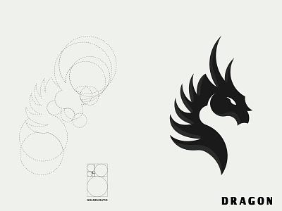 Dragon flacon dragon minimalist design branding brand design logotype logo