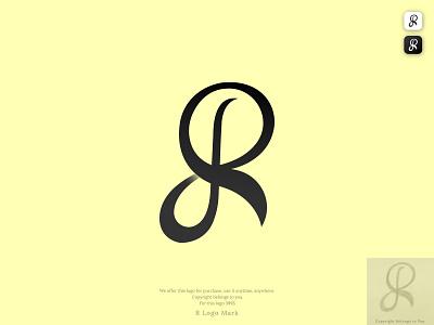 R Letterform Logo concept modern logo graphic design ui black logo r minimal logo r logo minimal flat icon type logo logotype brand design branding design vector illustration logodesign minimalist