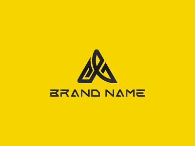 CAJ & CA LOGO MARK typography ui motion graphics graphic design vector logodesign minimalist design branding logotype logo brand design black icon modern business logo company logo caj logo creative ca logo