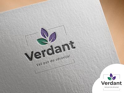 Logo Design (Logo Dizajn) - Verdant 'Vaš put do zdravlja' branding photoshop illustration vector illustrator color logo design
