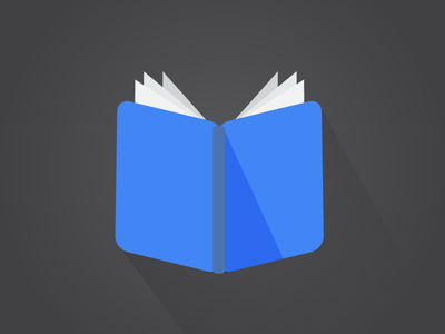 Read a book flat illustration icon book