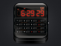 Casio Calculator Watch App Icon