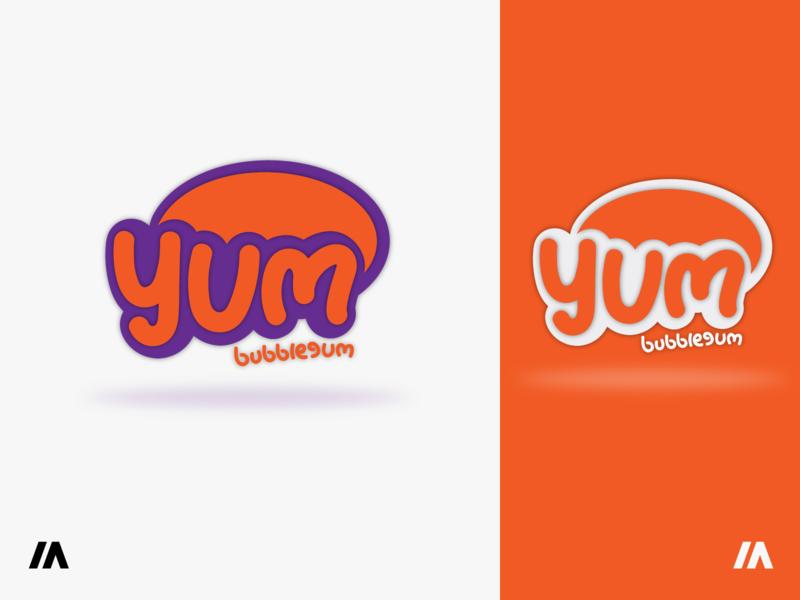 yum bubblegum Logo