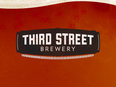 3rd Street Brewhouse logo barrel beer liberator flow amber froth