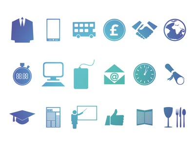Icon Set For Web Project