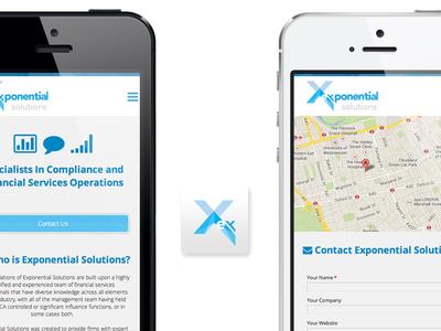 Exponential Solutions Responsive Website Design