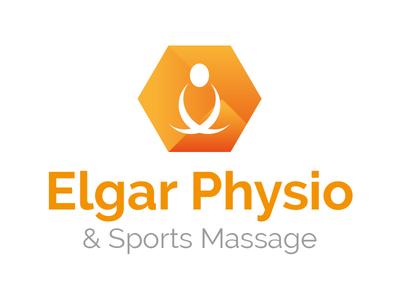 Elgar Physio Logo Concept