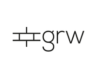 grw construction logo concept