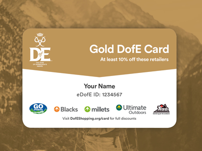 Dofe Reward Card Gold charity reward card gold a5 print card reward leaflet print design