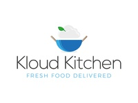 Kloud Kitchen Logo Concept