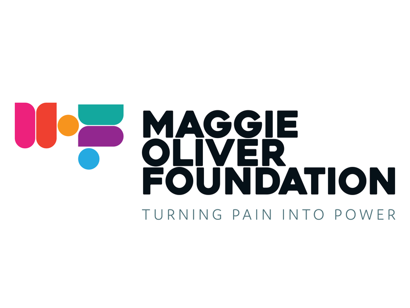 Maggie Oliver Foundation Logo Concept 1 charity typography graphic design identity branding logo design brand concept icon vector logo