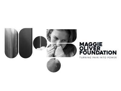 Maggie Oliver Foundation Logo Concept 1 Application care charity design graphic design identity branding logo design brand concept icon vector logo