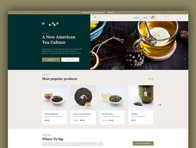 Jojo Desktop Web Design Ecommerce