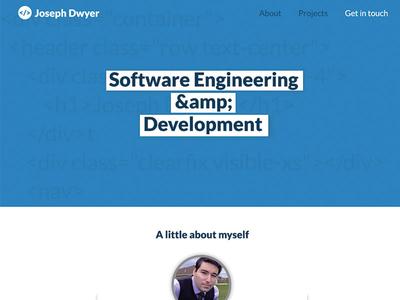 Software Engineer Portfolio