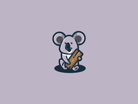 Fun Koala Logo