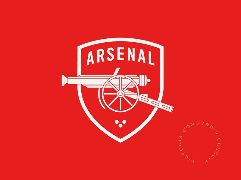 Arsenal gunners arsenal england sports logo badge crest soccer football