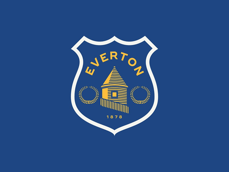 Everton everton liverpool england sports logo badge crest soccer football