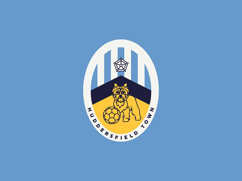 Huddersfield Town terrier huddersfield england sports logo badge crest soccer football