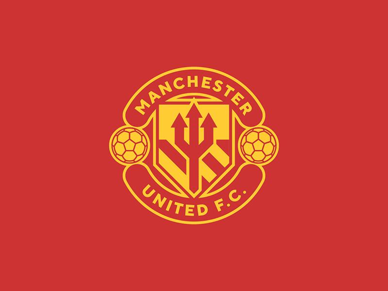 Manchester United devils united manchester england sports logo badge crest soccer football